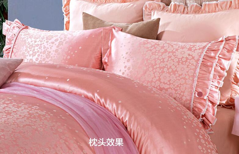 欧式被子贴图粉色